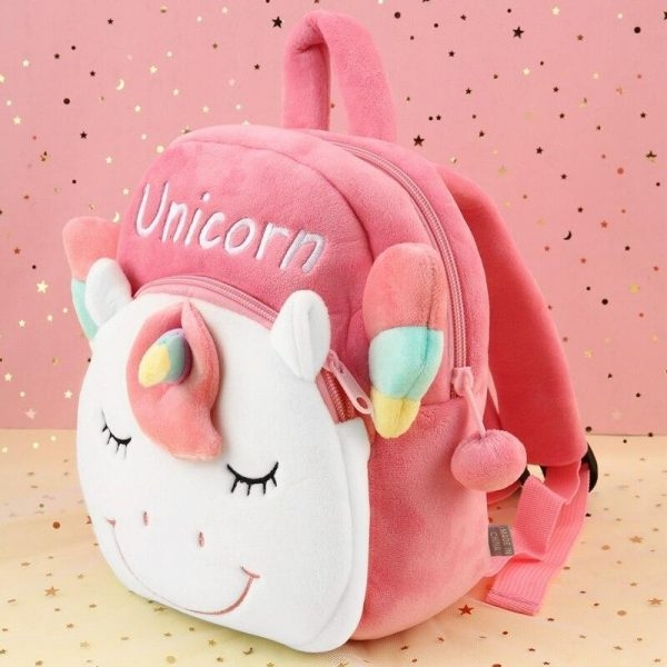 small bag at back form of unicorn not dear