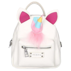 small bag at back unicorn white at sell