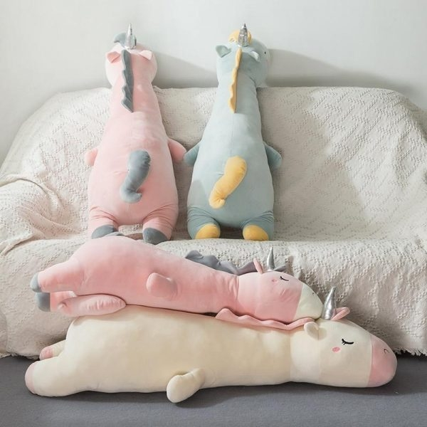 soft toy unicorn giant 120cm fluff unicorn