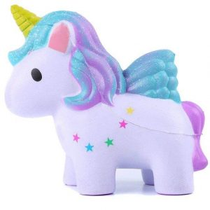 squishy in form of unicorn kawaii not expensive unicorn stuffed animals