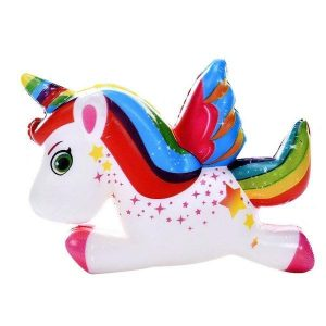 squishy unicorn flying not expensive bow in sky buy