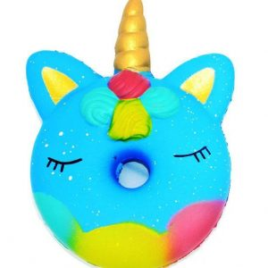 squishy unicorn xxl cake blue kawaii objects unicorn at price minis