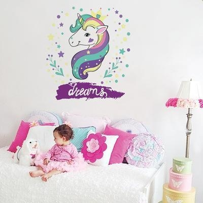 stickers murals unicorn bedroom baby room