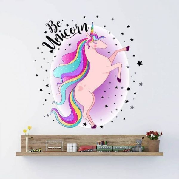 stickers unicorn pink galaxy baby buy