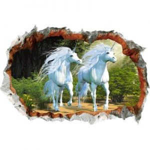 stickers wall deco unicorn unicorn stuffed animals