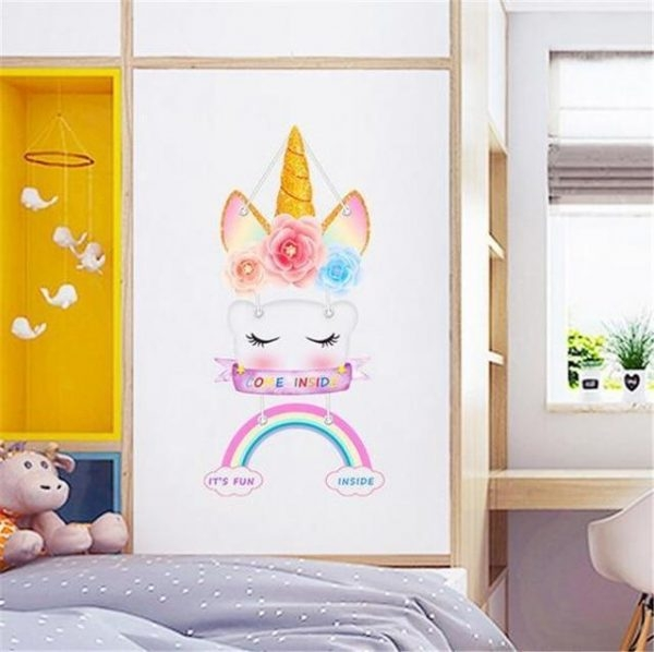 stickers wall unicorn original buy