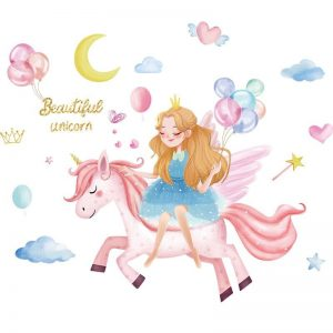 stickers wall unicorn sky buy