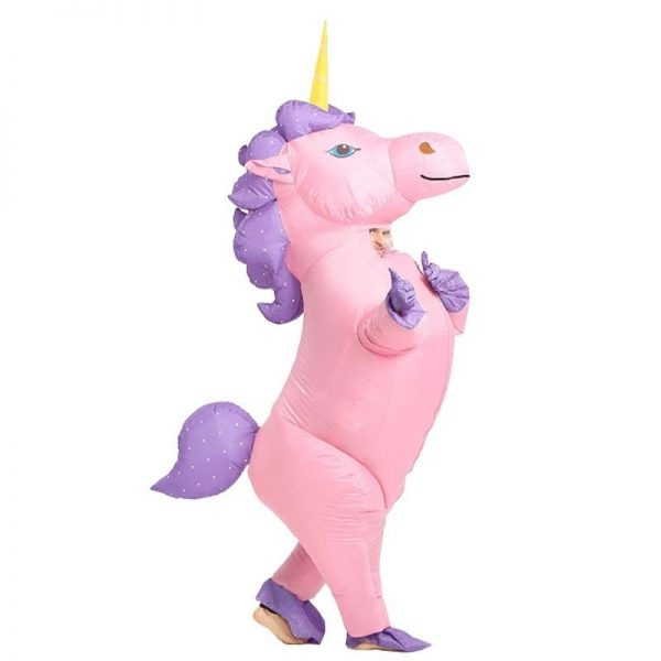 suit inflatable unicorn adult