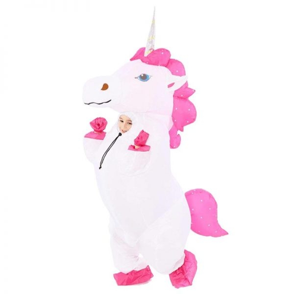 suit unicorn inflatable child teenager 130 160cm at sell