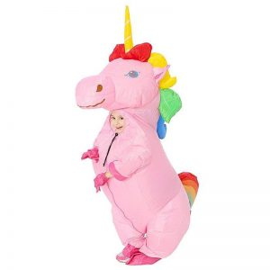 suit unicorn inflatable girl teenager 130 160cm unicorn stuffed animals