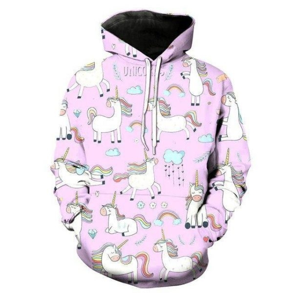 sweater unicorn child pink xxl 145 155cm buy