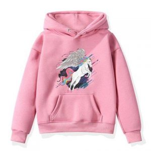 sweater unicorn child unicorn flying pink 15 years old 150 160 cm price