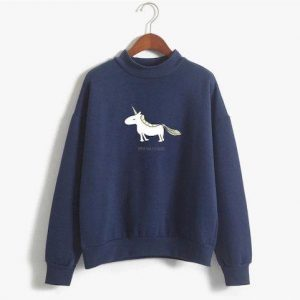 sweater unicorn women kawaii black xxl at sell