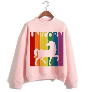 sweater unicorn women pink bow in sky xxl tower of chest 114cm