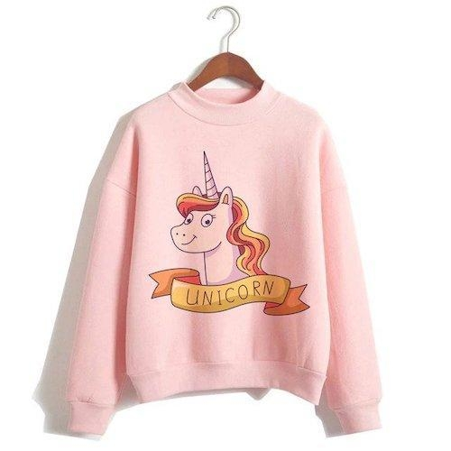 sweater unicorn women pink kawaii xxl tower of chest 114cm not dear