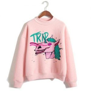 sweater unicorn women pink maleficent xxl tower of chest 114cm clothing unicorn