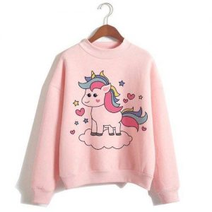 sweater unicorn women pink xxl