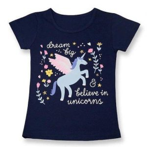 t shirt child unicorn blue 8 years buy