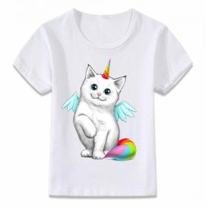 t shirt child unicorn cat kawaii 9 years clothing unicorn