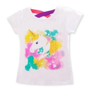 t shirt unicorn child multicolored 8.years