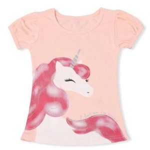t shirt unicorn child pink 8 years price