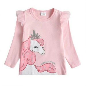 t shirt unicorn child princess 8 years not dear