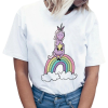 t shirt women unicorn bow in sky xxl buy