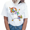 t shirt women unicorn dab funky xxl buy