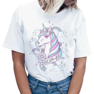 t shirt women unicorn dream xxl price
