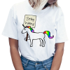 t shirt women unicorn rest weird xxl price