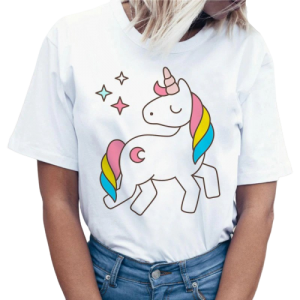 t shirt women unicorn stars xxl clothing unicorn