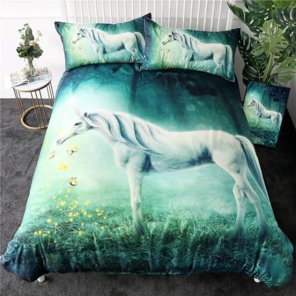 together bedding unicorn bedroom magic 220x240cm buy