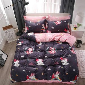 together bedding unicorn kawaii pink 220x240cm at sell
