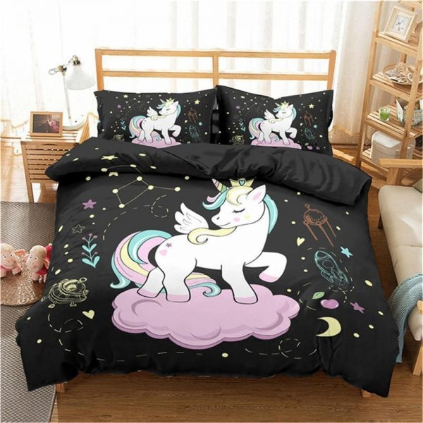 together bedding unicorn little girl 220x240cm