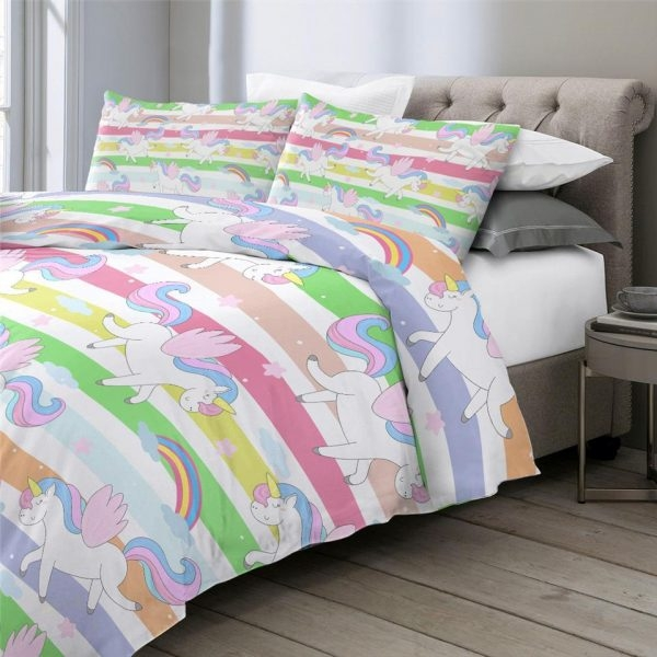 together bedding unicorn multicolored 220x240cm buy