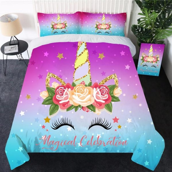 together of bed unicorn cotton 220x260cm price