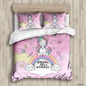 together of bedding unicorn 240x220cm unicorn stuffed animals