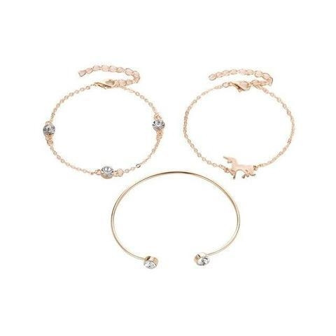together of bracelet unicorn gold at sell