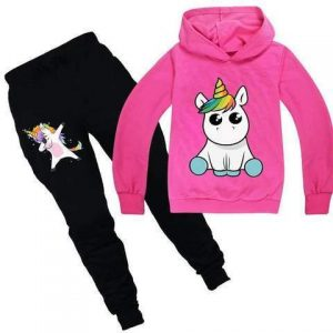 together of tracksuit unicorn kawaii pink 14 to sell