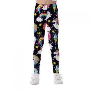 trousers leggings unicorn galaxy 11 12 years clothing unicorn