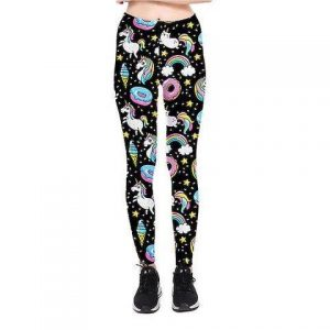 trousers leggings unicorn women galaxy xl 46 ​​48 to sell