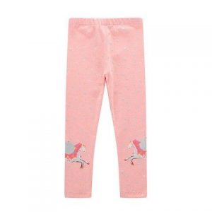 trousers unicorn child pink 120 130cm not dear