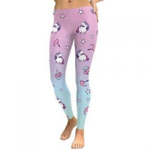 trousers unicorn leggings women pink xl 46 ​​48