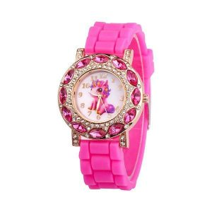 watch unicorn child princess pink clear watch unicorn