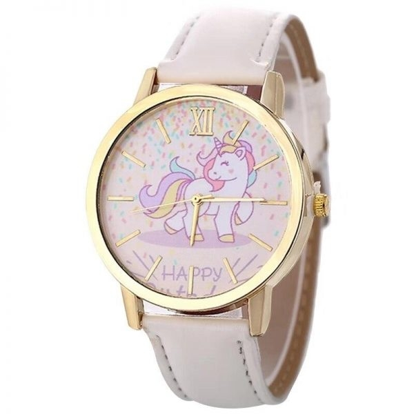 watch unicorn in leather blue buy