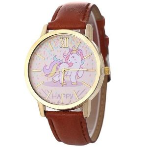 watch unicorn in leather blue price
