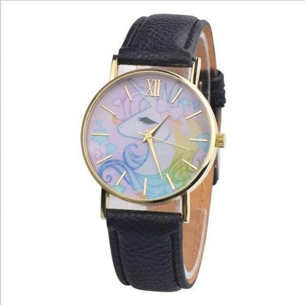 watch unicorn kawaii elegant rose