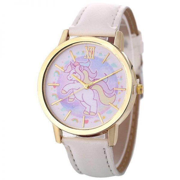 watch unicorn leather for girl blue price