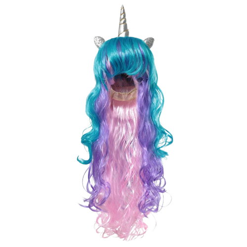wig unicorn magic child at sell